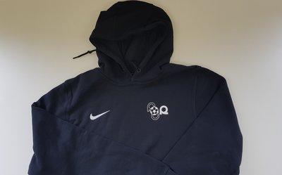 Hoodie Nike, schwarz mit Logo FC Rohtrist